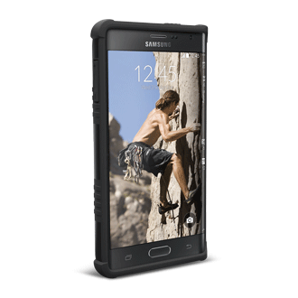 drop tested samsung note edge cases by UAG