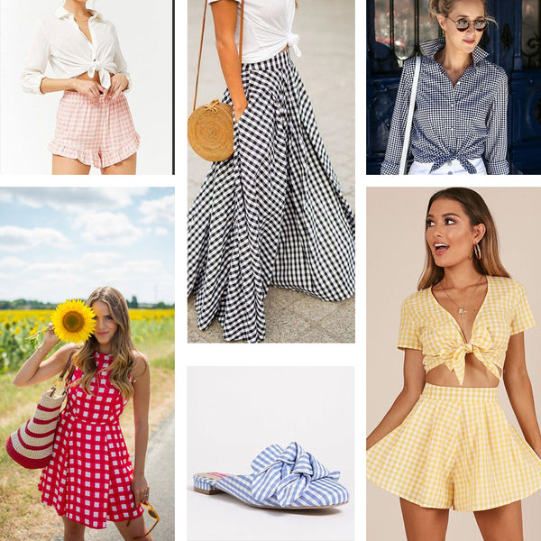 cfc43938eb ... why not try a new print  Gingham is making a huge comeback