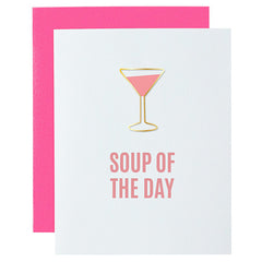 SOUP OF THE DAY CARD