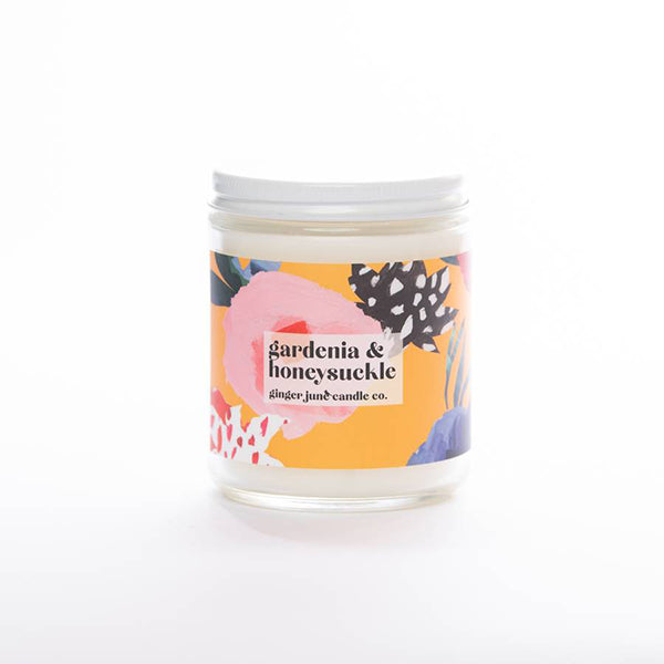 PATTERN PLAY COLLECTION- GARDENIA HONEYSUCKLE CANDLE