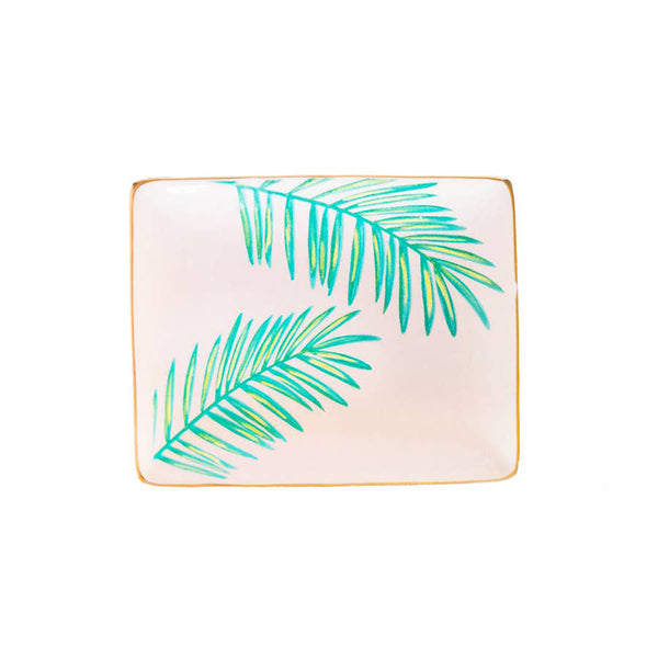 PALMS TROPICAL JEWELRY DISH