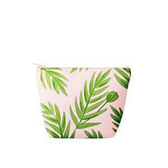 PINK PALMS POUCH