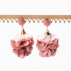 ALMA BLOOM EARRINGS- MAUVE