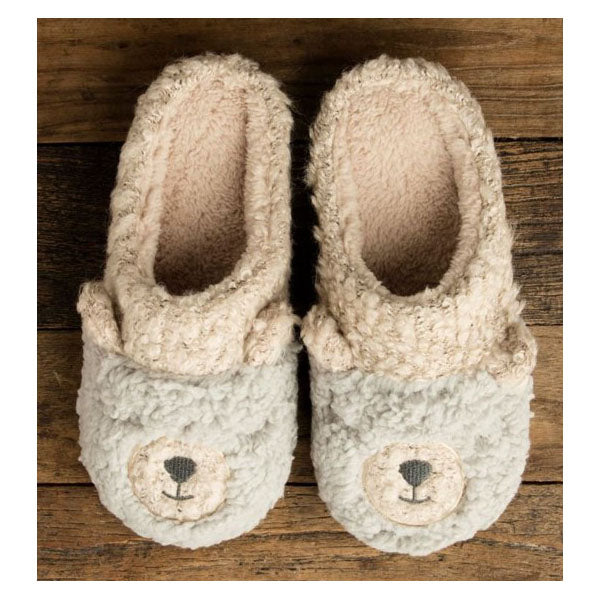 BERBER BEAR SLIPPERS- OXFORD