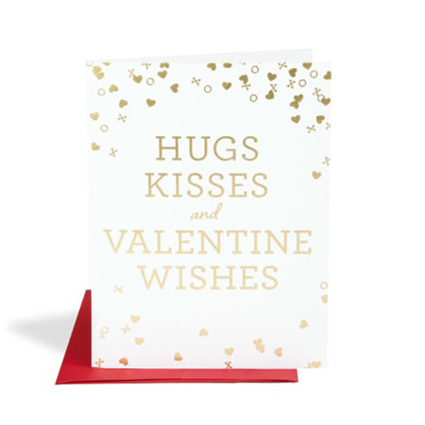 HUGS AND KISSES CARD