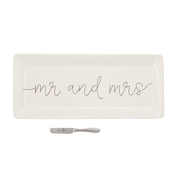 MR & MRS HOSTESS TRAY SET