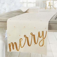 MERRY TABLE RUNNER