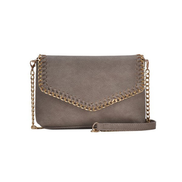 OFF THE CHAIN CLUTCH- TAUPE