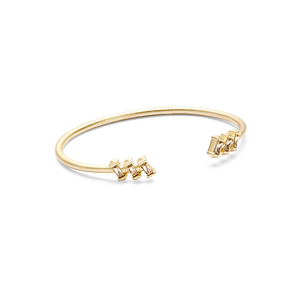 KENDRA SCOTT- AMAYA BRACELET IN SMOKY CRYSTAL