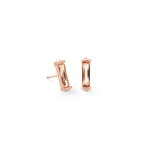 KENDRA SCOTT- FLETCHER EARRINGS IN BLUSH CRYSTAL