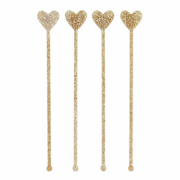 Heart Stir Sticks
