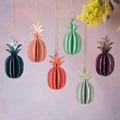 PINEAPPLE 3D ORNAMENTS