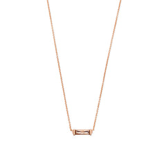 KENDRA SCOTT- RUFUS NECKLACE IN BLUSH CRYSTAL