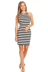 STRIPE BODYCON DRESS
