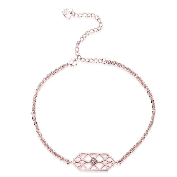 RUNAWAY ROMANTIC CHOCKER- ROSE GOLD DRUSY