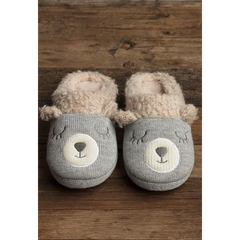 SNOW BEAR SLIPPERS- OXFORD