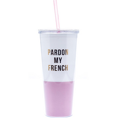 PARDON MY FRENCH TUMBLER