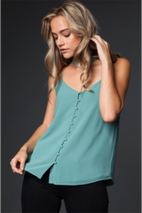 KELLY TOP- GREEN