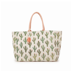 CACTUS TRAVEL BAG- DARK GREEN