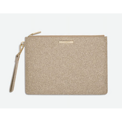 STARDUST CLUTCH - CHAMPAGNE