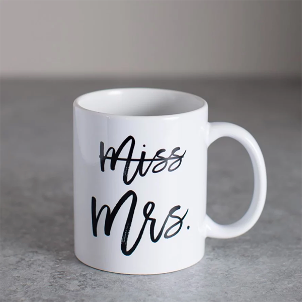 MISS TO MRS MUG