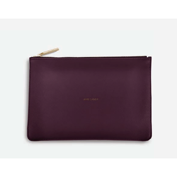 berry colored perfect pouch