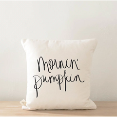 MORNIN' PUMPKIN PILLOW