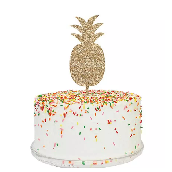 PINEAPPLE ICON CAKE TOPPER