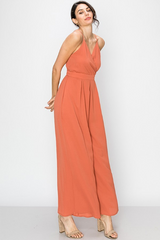 CLASSIC CLAY COLORED JUMPSUIT