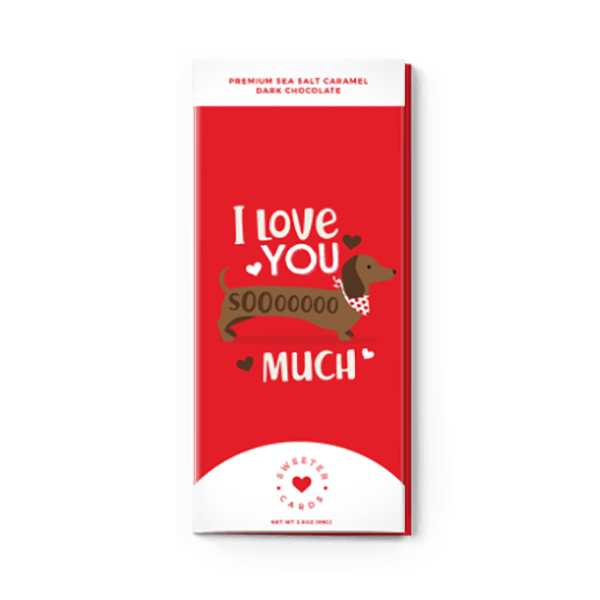 LOVE YOU SOOO MUCH CHOCOLATE CARD