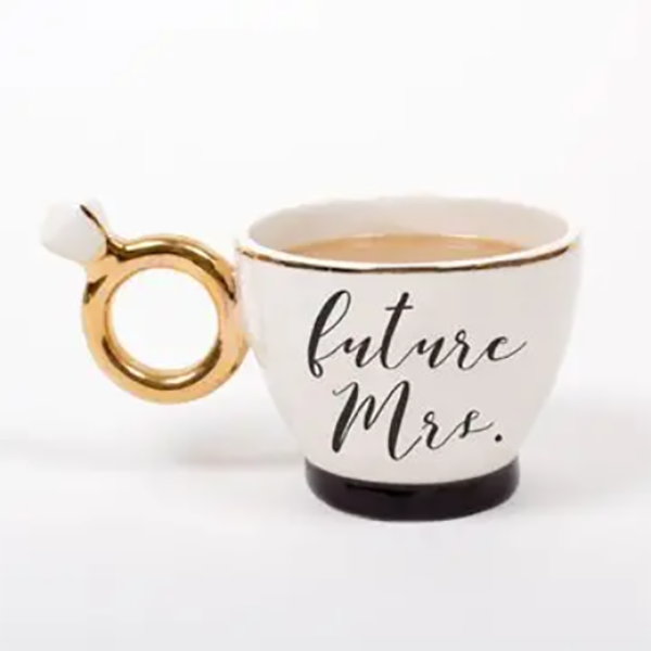 ENGAGED RING MUG
