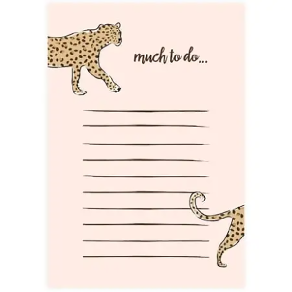LEOPARD TO DO LIST