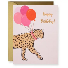 LEOPARD BDAY CARD