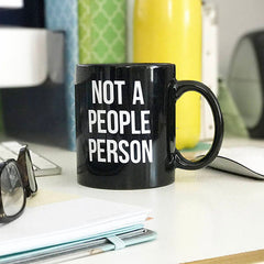 NOT A PEOPLE PERSON MUG