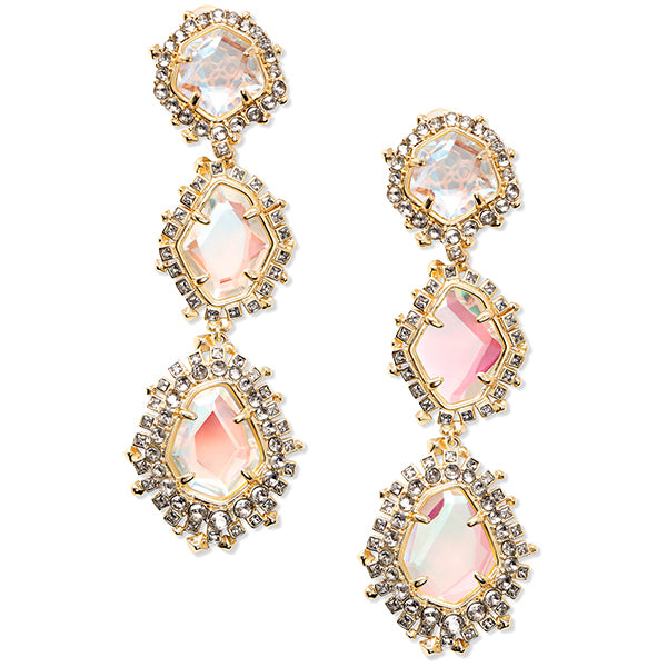 KENDRA SCOTT-ARIA EARRINGS IN GOLD