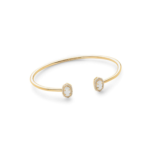 KENDRA SCOTT- CALLA BRACELET IN WHITE MOP