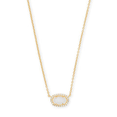 KENDRA SCOTT- CHELSEA NECKLACE IN WHITE MOP