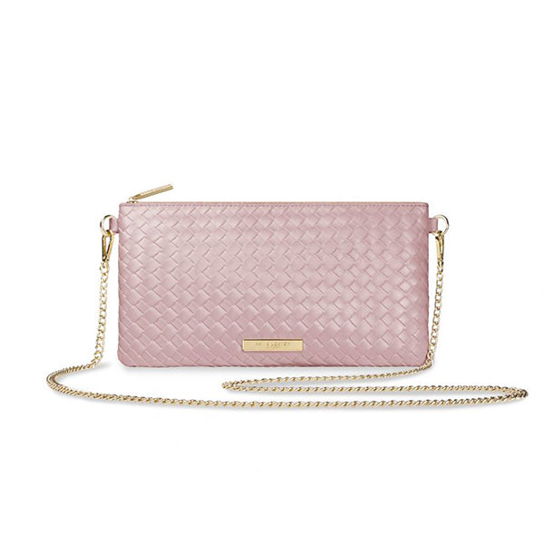 FREYA CROSSBODY BAG- PALE PINK