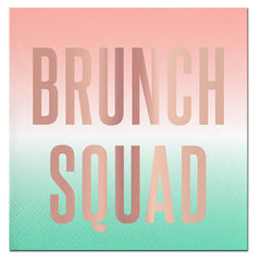 BRUNCH SQUAD NAPKINS