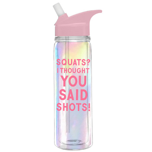 SQUATS WATER BOTTLE
