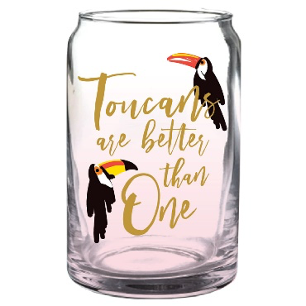 TUCAN BEER GLASS