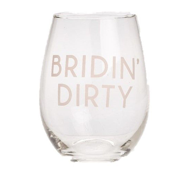 BRIDIN DIRTY WINE GLASS