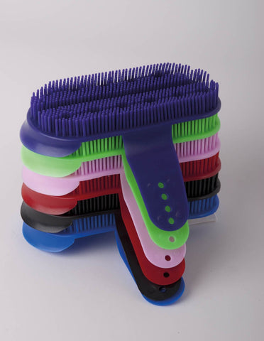 Harlequin Plastic Curry Comb