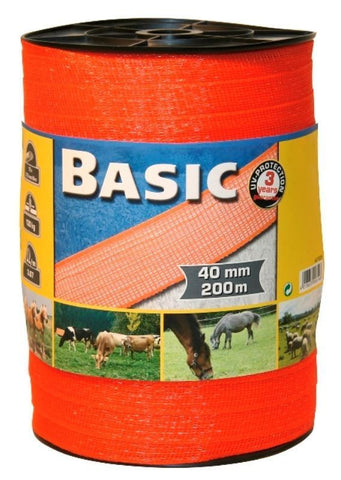 40mm 200m Basic Fencing Tape