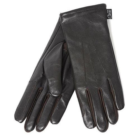 Showing Gloves Brown Leather