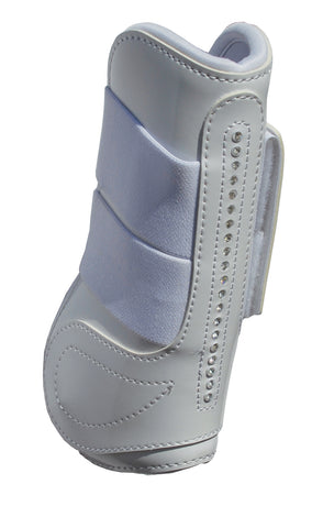 Patent Tendon & Fetlock Boot Set With 'Crystals'