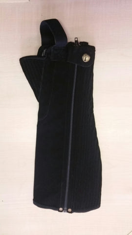 Children's Synthetic Suede Half Chaps