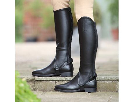 Synthetic Leather Gaiters
