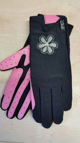 Bang on the Door Flower Riding Gloves