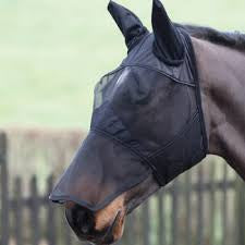 Shires fly mask with ears & nose